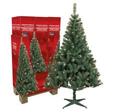 Künstlicher Weihnachtsbaum mit Beleuchtung und Ständer 180 cm - Tannenbaum - OVP