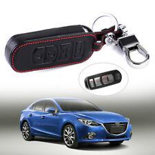 Schlüssel Schutz Hülle Leder Etui Key Case FÜR Mazda 3 6 CX5 CX7 CX9 MX-5 Miata