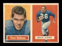 1957 Topps Set Break # 44 Gene Gedman NM *OBGcards*