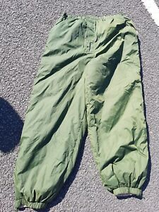British army insulated thermal softie trousers reversable MEDIUM