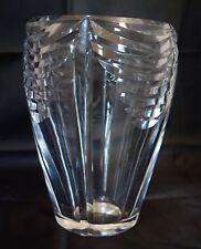 Gros vase en cristal taillé estampillé BACCARAT / PARFAIT ÉTAT / 4,600 kgs