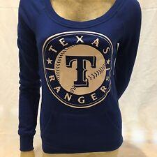 Slim Fit Victoria's Secret PINK Texas Rangers Sweat Shirt X Small