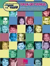 One Hundred Kids' Songs: E-Z Play Today Volume 118 (English) Paperback Book