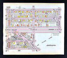 1929 Brooklyn Map Midwood Ocean Bay Parkway 2-8th Street Avenue J New York City