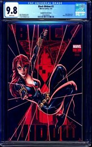 Black Widow #3 CGC 9.8 J.Scott Campbell GLOW IN THE DARK VARIANT CONVENTION