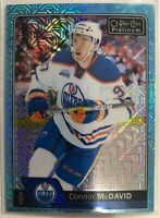 2016-17 Connor Mcdavid O-Pee-Chee Platinum Ice Blue Traxx #1 Edmonton Oilers