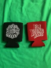 Eli Young Band Eyb Can Koolie Koozie Lot of 2 different Drunk last night