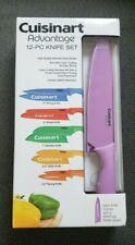 Cuisinart - 12-Piece Knife Set - Red/Orange/Yellow/Green/Blue/Purple