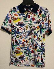 NWT Polo Ralph Lauren Big Boys Kids Polo Bear Mesh Polo Shirt Size Medium 10-12