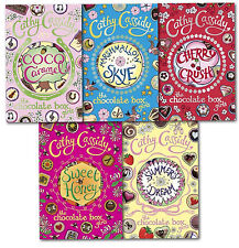 Chocolate Box Girls Collection Cathy Cassidy 5 Books Set Sweet Honey, Cherry