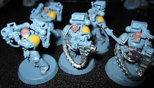 Warhammer 40000 Space Wolves Long Fangs squad painted