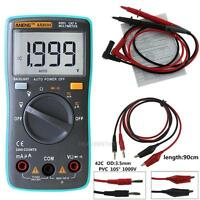 Digital Multimeter Backlight AC/DC Tester Ammeter Voltmeter Ohm Voltage Meter