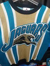 Vintage Riddell Jacksonville Jaguar Sweater Large