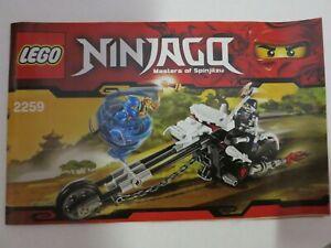 LEGO NINJAGO Skelett Chopper (2259)