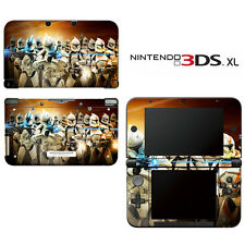 Vinyl Skin Decal Cover for Nintendo 3DS XL LL - Star Wars Clone Wars Trooper