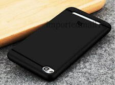 For Xiaomi Redmi 4A Soft Silicon Premium TPU Back Cover Case - Black
