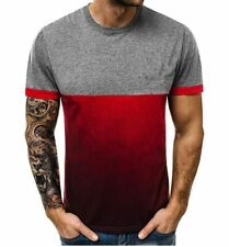 Top sports Space Clothes summer Solid Trendy Simple Blouse Men Sportswear Design