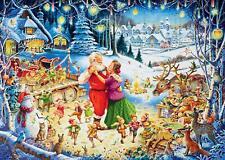 Ravensburger Santas Christmas Party 1000 piece festive jigsaw puzzle