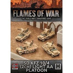 Flames Of War 4th Edition Panzer 11 Light Tank Platoon