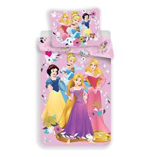 Disney Prinzessinnen Kinder Bettwäsche 2tlg Set 135x200 cm Duvet Bettwaren NEU