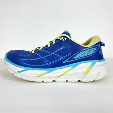 Hoka One One Clifton 2 Womens US 8 Road Running Shoes 1008329 Blue Free Shipping
