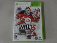 EA Sports NHL14 Microsoft Xbox 360 Game Complete Free Ship