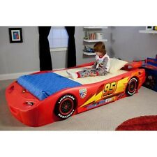 Disney - Cars Lightning McQueen Twin Bed with Lights