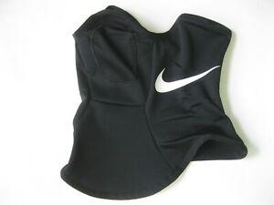 Nike Squad Snood Scarf Face Mask Black Fleece Cover Men Women AQ8233