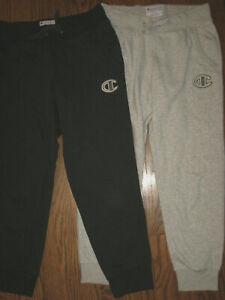 womens Smaaa Champion joggers sweatpants athletic wear lot activewear gray black