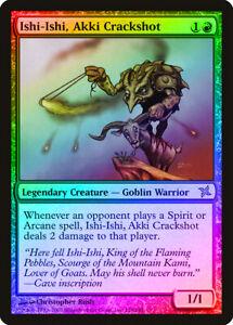 Ishi-Ishi, Akki Crackshot FOIL Betrayers of Kamigawa NM Red Rare CARD ABUGames