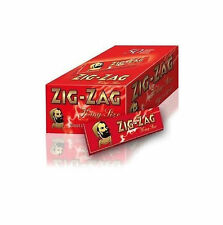 320 ZIG ZAG RED KING SIZE ROLLING PAPERS 10 BOOKS OF 32