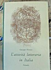 L' ATTIVITA' LETTERARIA IN ITALIA - GIUSEPPE PETRONIO - PALUMBO EDITORE