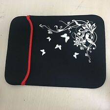 14.6inch Laptop Notebook Netbook tablet pc Carry Case Bag flower butterfly