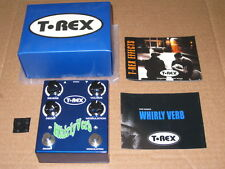 new near A+ (display piece) T-Rex Engineering Whirly Verb + box & paperwork