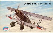 MPM 1:48 Avia B 534 IV Czechoslovak Biplane Plastic Model Kit #6004