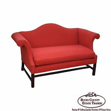 Kittinger Colonial Williamsburg Adaptation Chippendale Style Loveseat