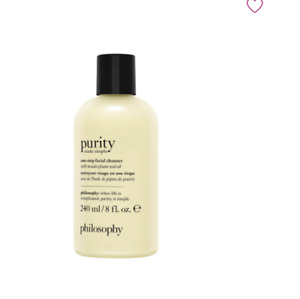 Philosophy one-step paraben free facial cleanser WC735 Brand New Free Fast Ship