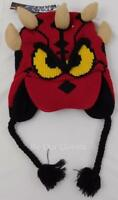 Disney Parks Star Wars Darth Maul Donald Duck Knit Youth Hat New