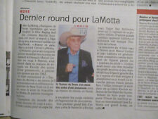 JOURNAL DU DECES DE : JAKE LAMOTTA - 21/09/2017 - CHAMPION DE BOXE