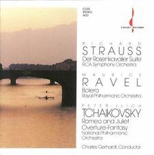 STRAUSS, RAVEL, TCHAIKOVSKY, GERHARDT rca symphony, rpo (CD) Classical, romantic