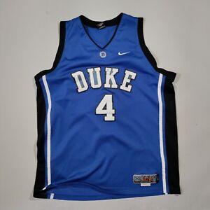 Team Nike Duke Blue Devils JJ Redick Jersey Adult XL Blue Basketball NCAA Mens