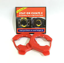 Stay On Cleats for Speedplay Zero or Light Action Cleats Protection Cover RED