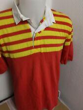 superbe  maillot de rugby coton   taille  L vintage