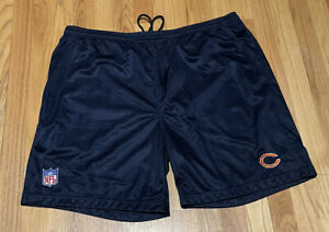 Mens XL NFL Reebok Onfield Team Issued Pull Up Shorts Chicago Bears