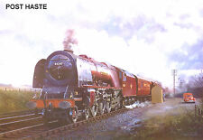 """Hornby Dublo in Railway Art """"Poste Haste"""" No. 10 Signed & Numbered."""