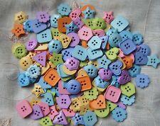 Misto Colorati Bottoni forme-ASSORTITI TAGLIE - 75g Cucito & Craft