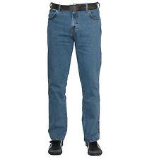 Wrangler Texas Stretch SONDERANGEBOT Herren Denim Jeans Hose blau stonewash