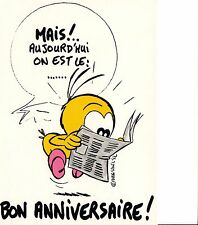 Carte Postale illustrateur Dan Salel - Le Piaf n° 212