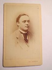Breslau - Student von Hildebrand in Couleur - 1869/73 - CDV / Studentika