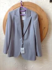 👀 Next UK 16 (EU44)👀 Lovely Tailored Grey Herringbone Jacket **new With Tags**